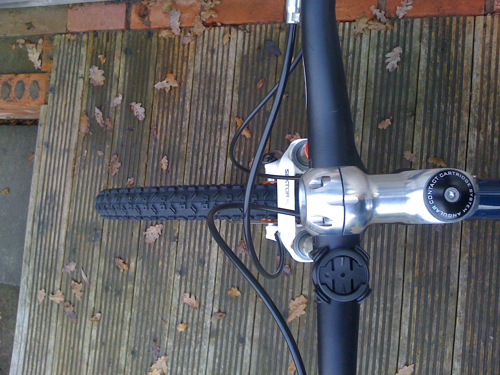 Oneone and rideworks vertical stot