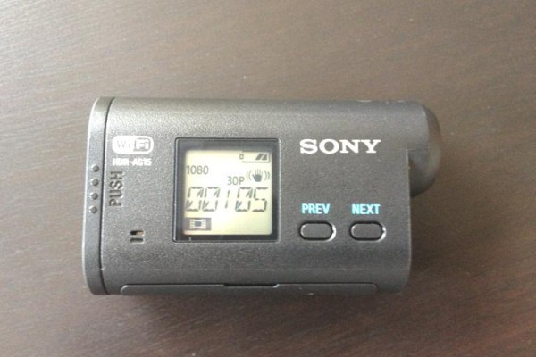 sony action cam right