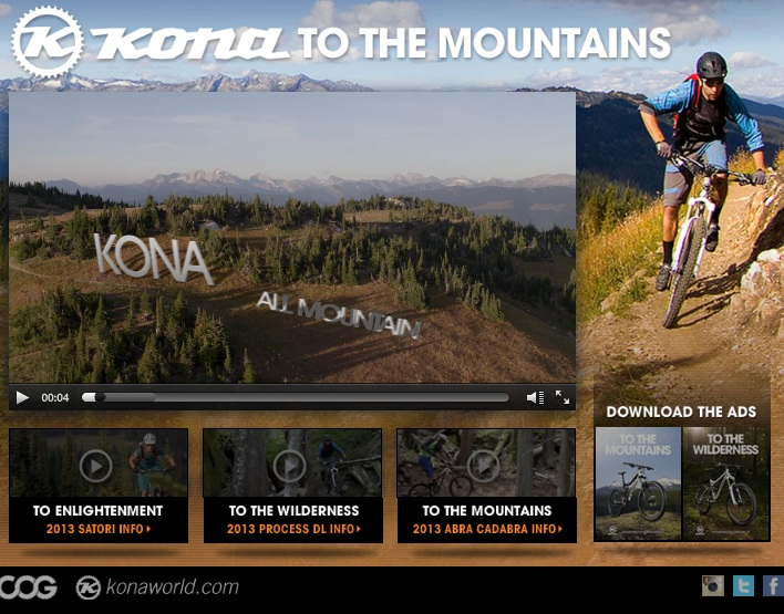 Kona To The Mountains… bikes
