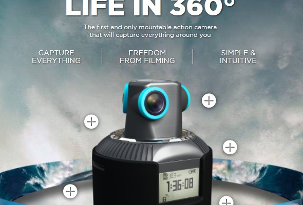 geonaute sphere 360 action camera