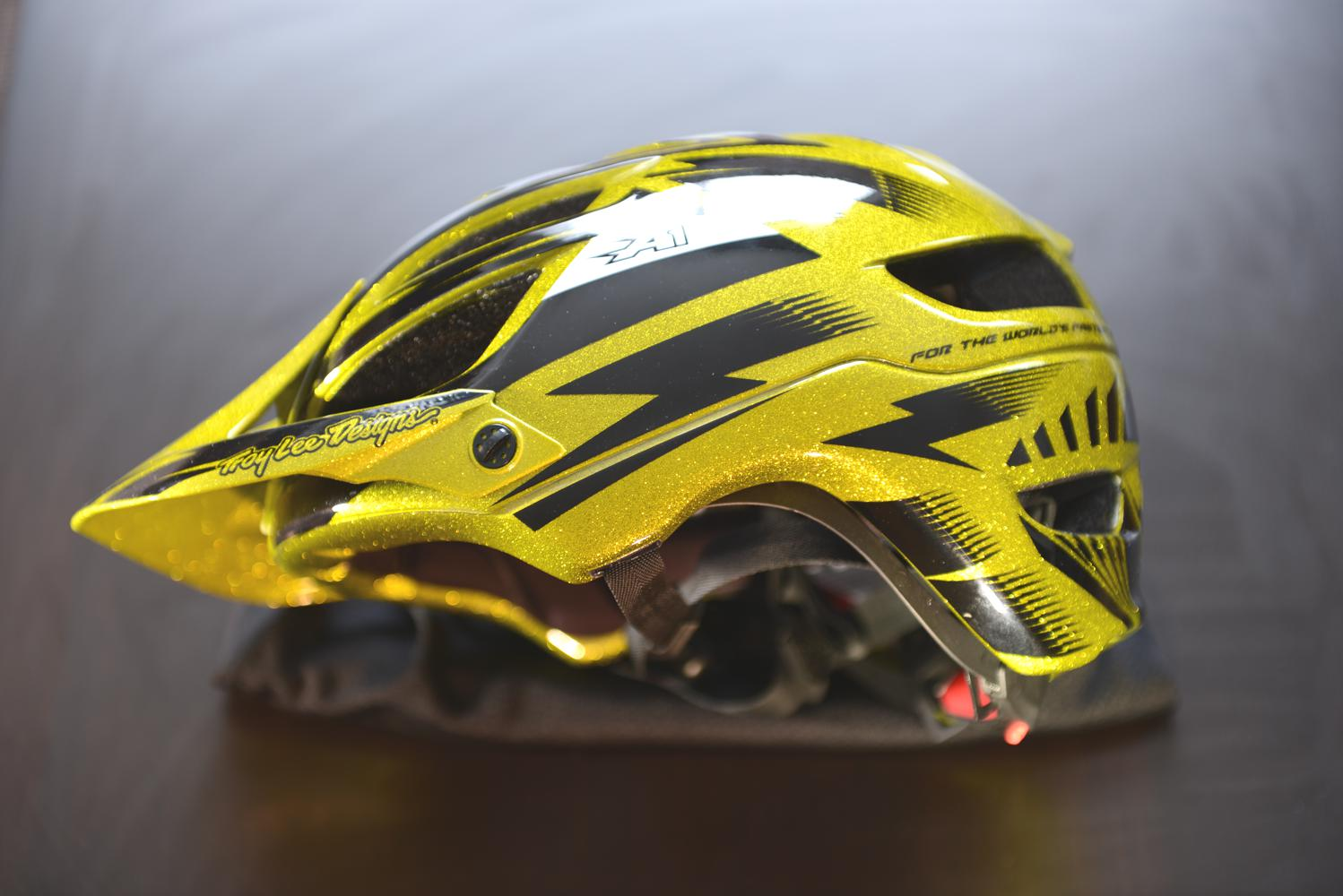 Hands on Troy Lee Design A1 Helmet limited