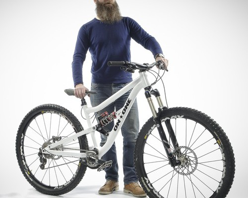 on one Codeine 2014 29er full suspension bike