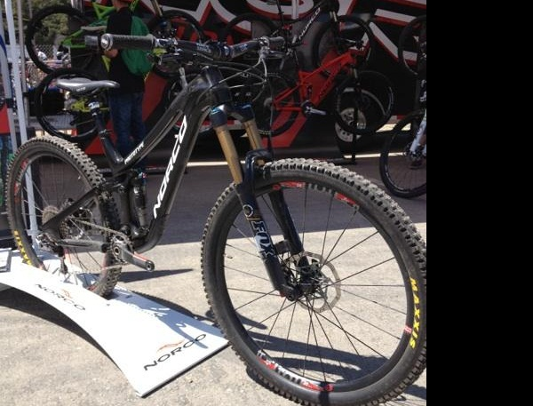 Norco Sight carbon 650B prototyp