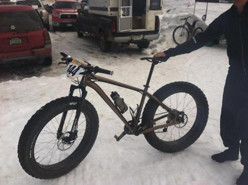 Specialized works on its fatbike prototype