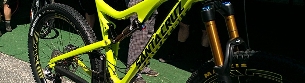 A detail on new Santa Cruz Bronson
