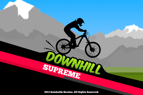 Downhill Supreme testé sur Iphone