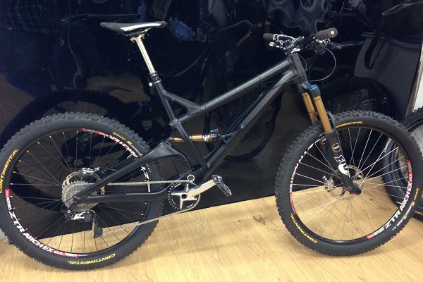 gt 2014 enduro bike