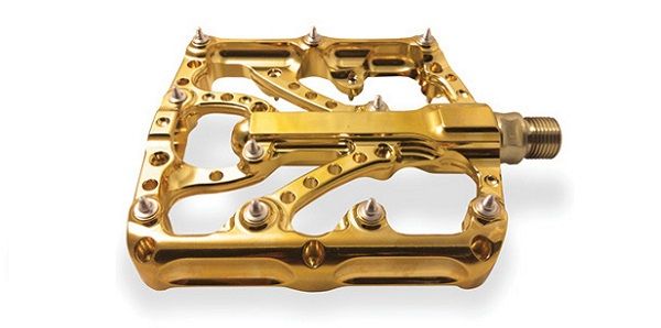 Twenty6 pedals plated gold