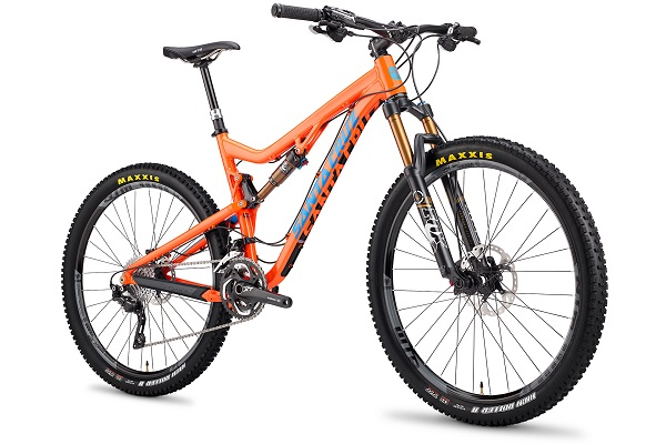 santa cruz solo-alloy frame orange