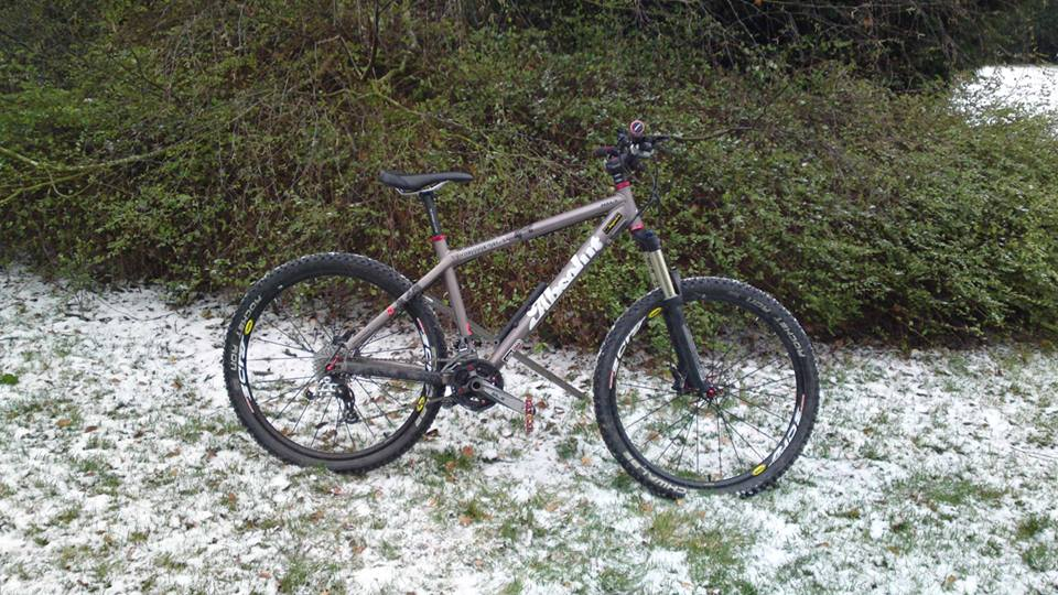 Commencal Absolut d'anthony