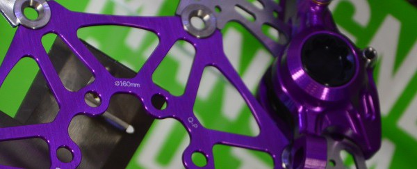 hope rotor 160mn purple