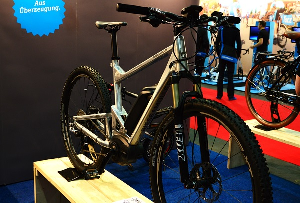 riese and muller electric mountainbike