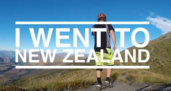 i went to new zealand