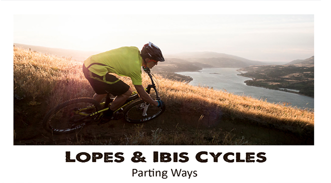 Brian Lopes joins Intense Cycles