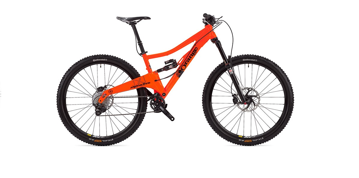New Orange Alpine Five 29er