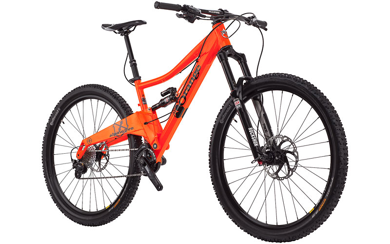 orange bike alpine five RS