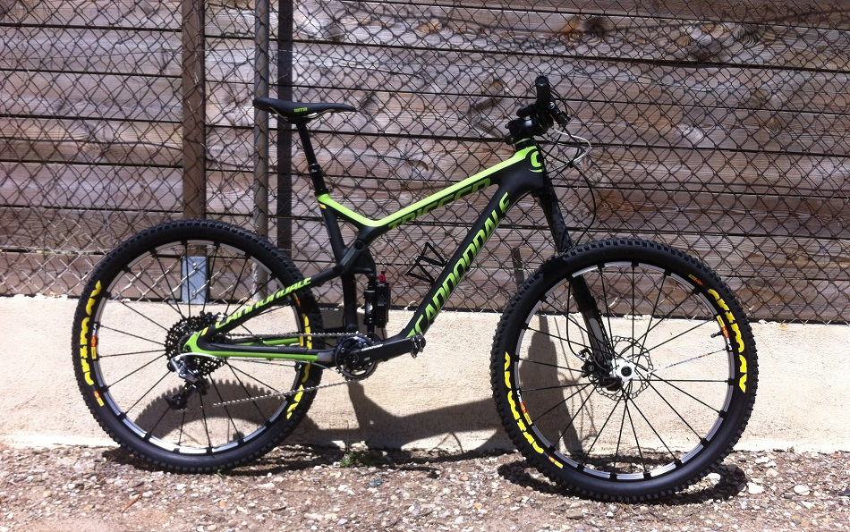 cannondale trigger team 275