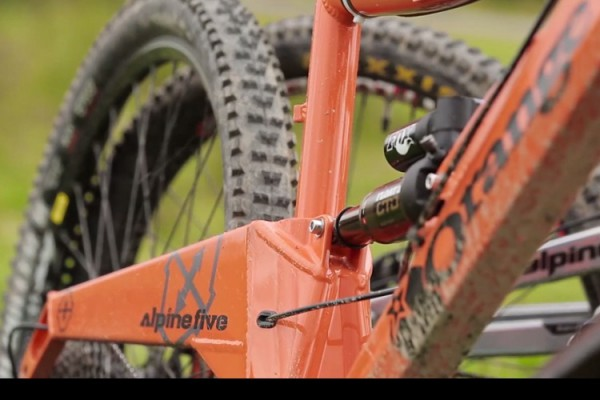 orange alpine bikes 2015