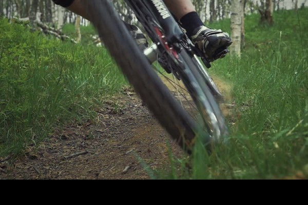 video mtb slowmotion