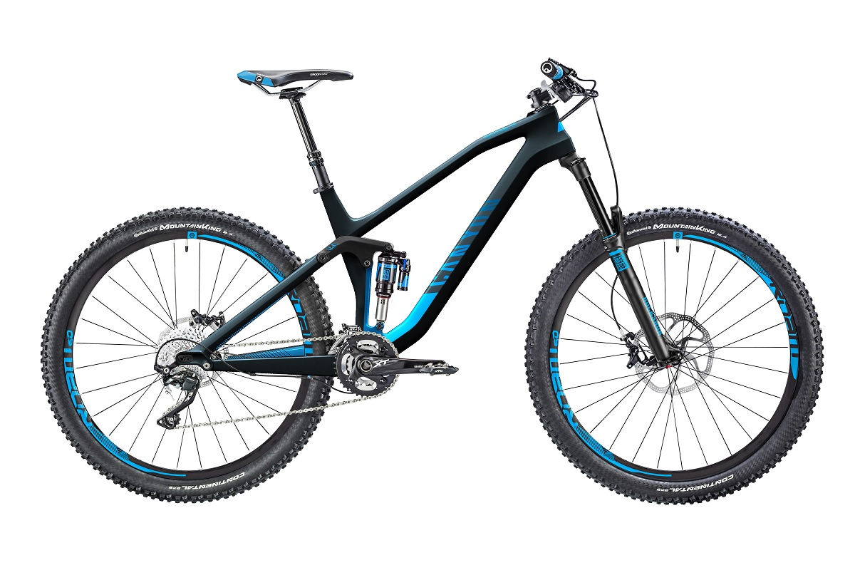 New geometry and carbon for Canyon Spectral