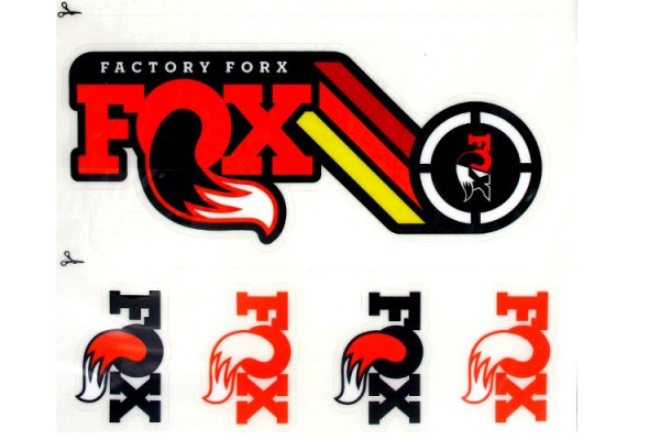 fox heritage sticker
