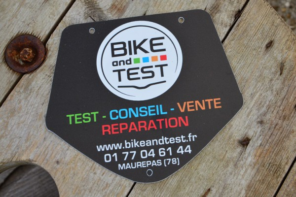 plaque bike and test
