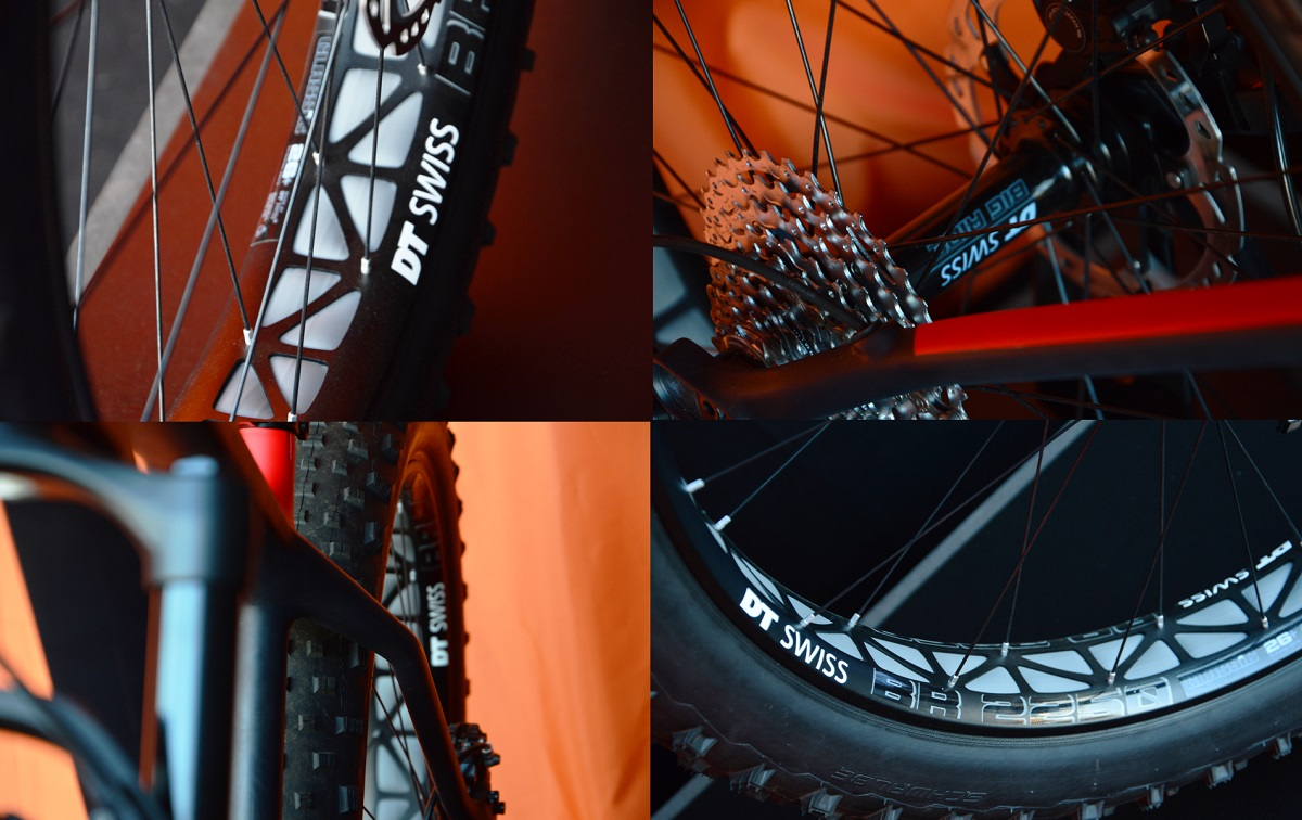 Roues fatbike DT Swiss BR2250