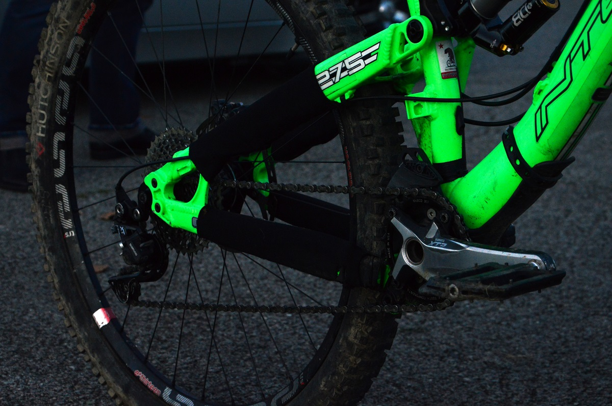 intense tracer 275 transmission shimano XTR