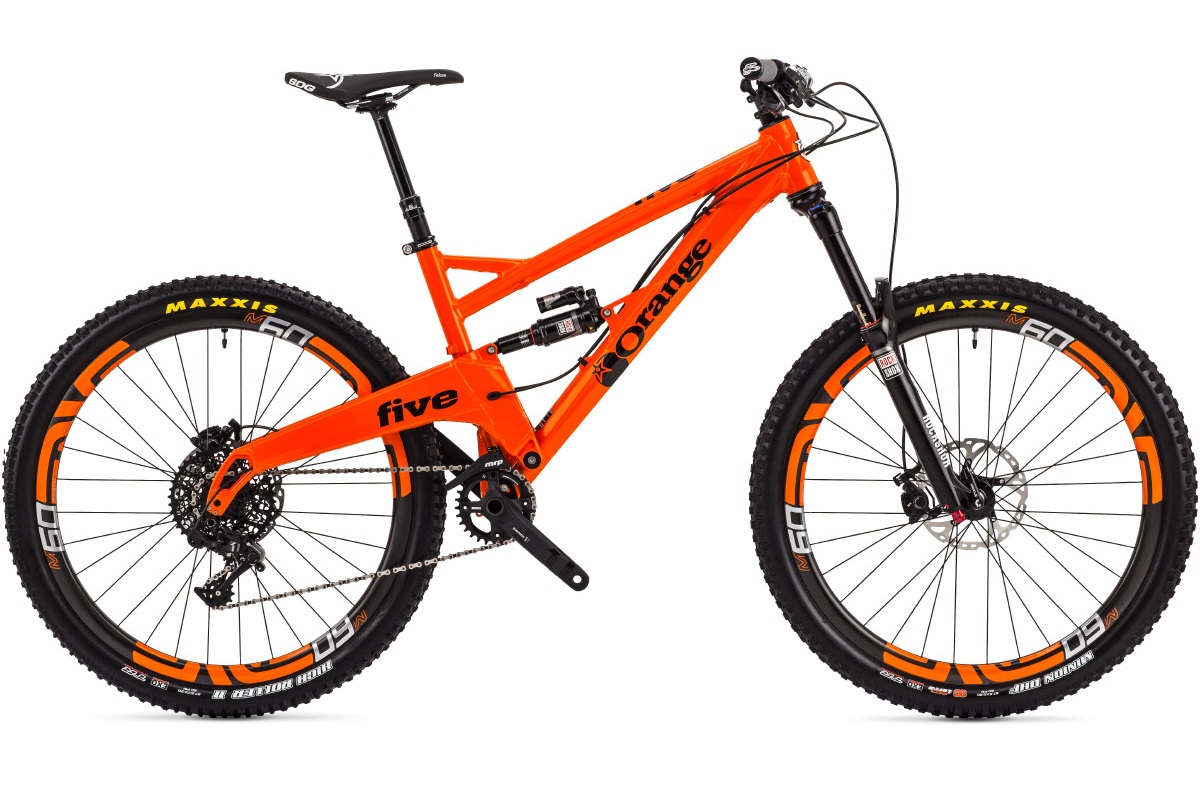 Orange Five 2015 nouvelle géométrie