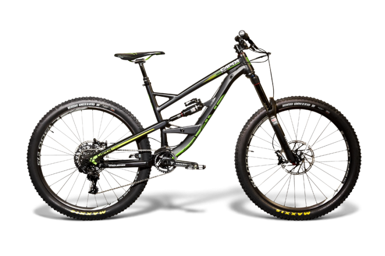 YT Capra_Origin AL 1 black green