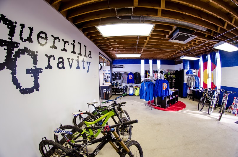 guerilla gravity retail shop