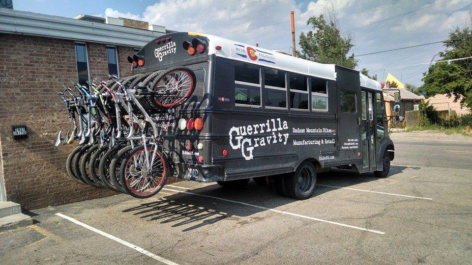 guerilla gravity test bike