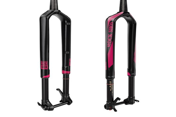 rockshox RS-1 LTD back pink