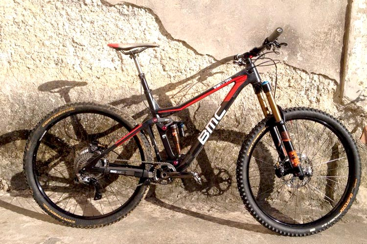 BMC teste son enduro Trailfox TF01 en Di2