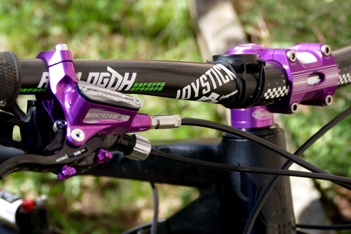 Banshee Spitfire Purple Edition de Mobile Bike
