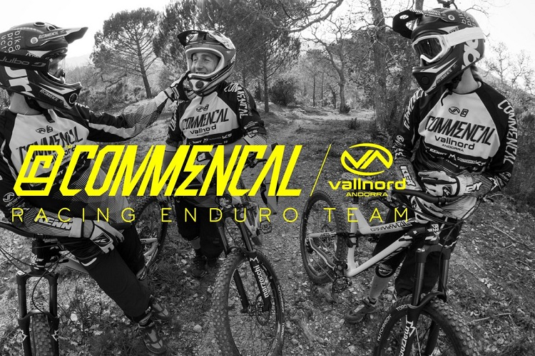 commencal enduro vallnord team