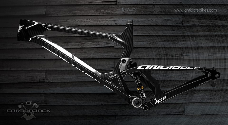 antidote bikes carbon jack 160mm