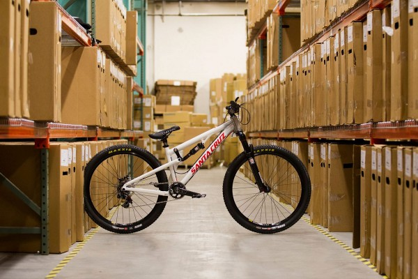santa cruz slopestyle full suspension