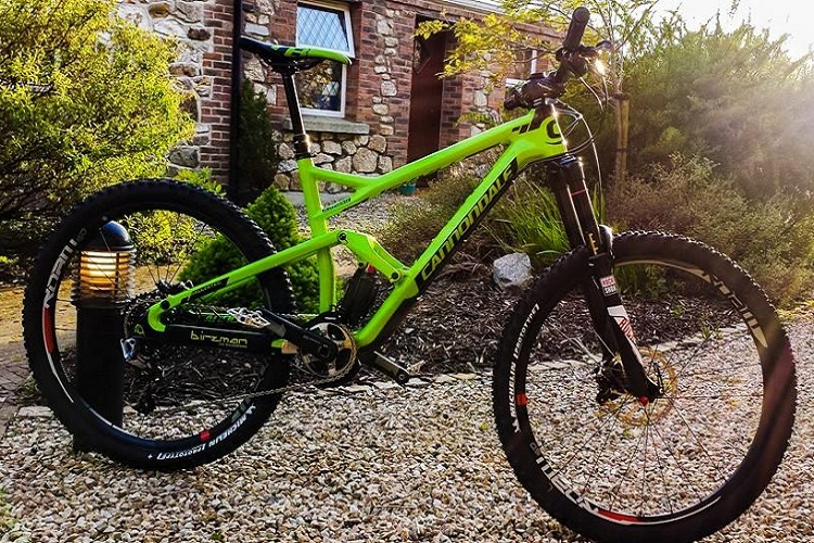 Jerome Clementz new Cannondale Jekyll for Ireland EWS