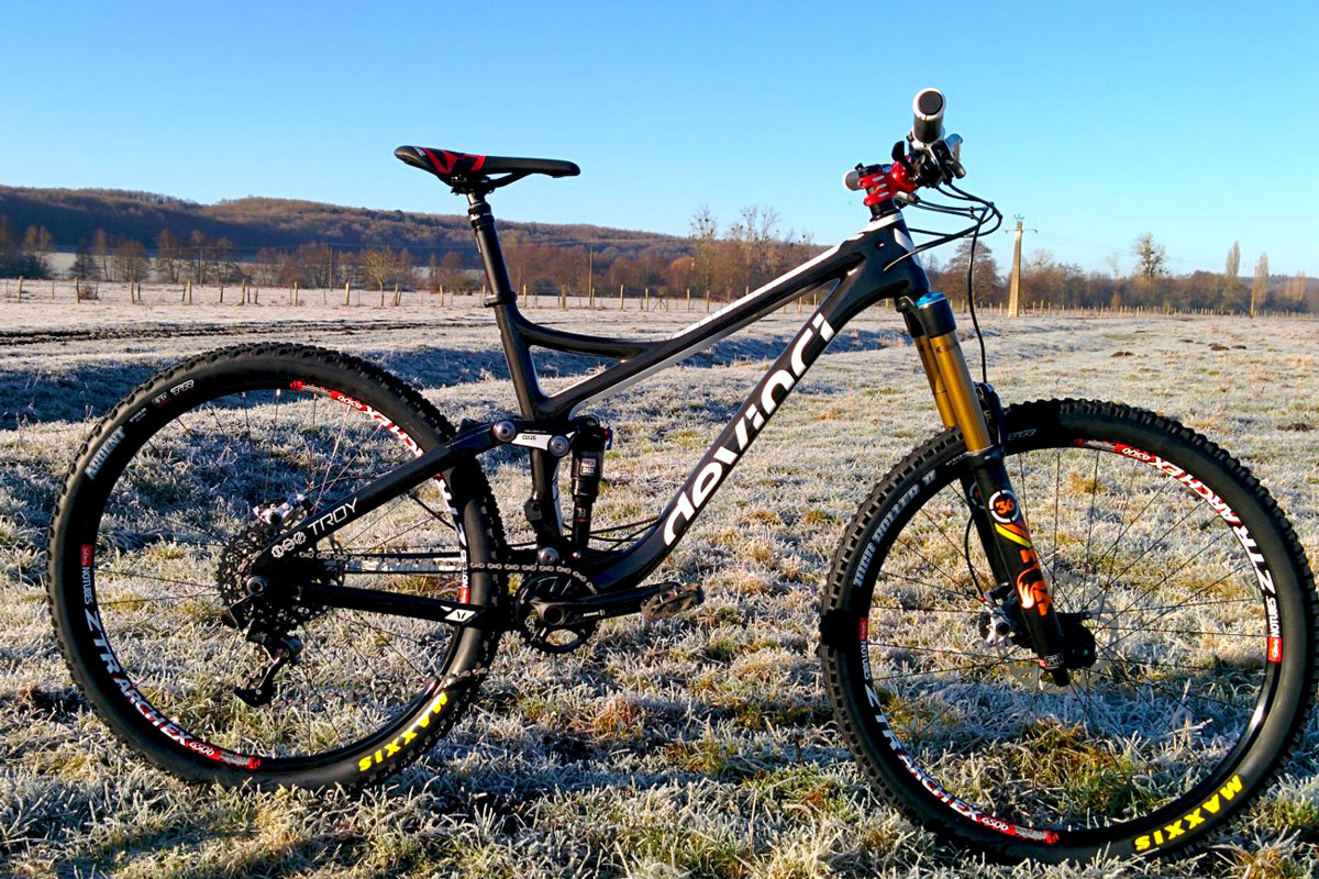 devinci troy carbon