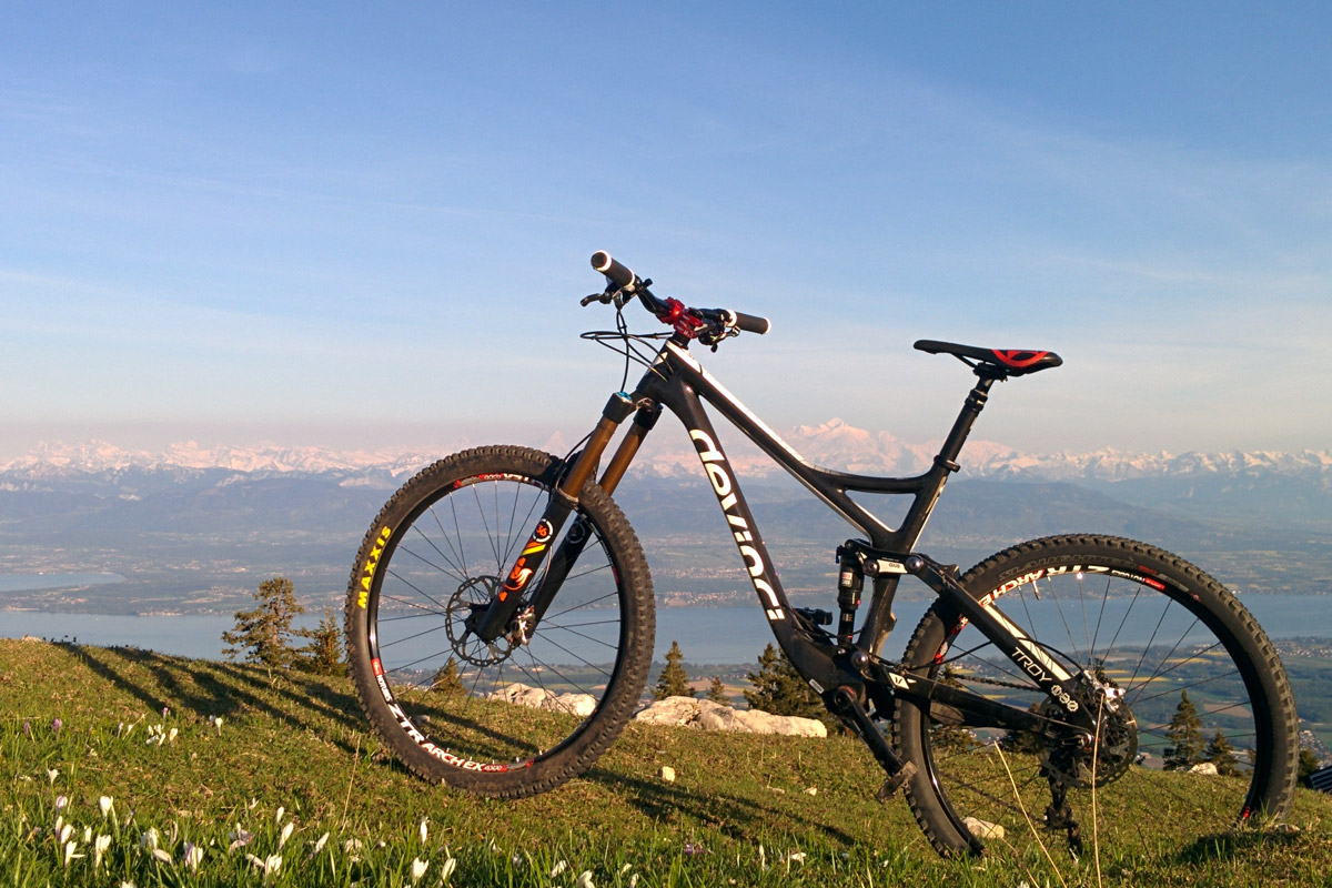 Hot or not: Devinci Troy Carbon de Vincent