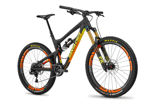 santa cruz nomad 2016 black fox