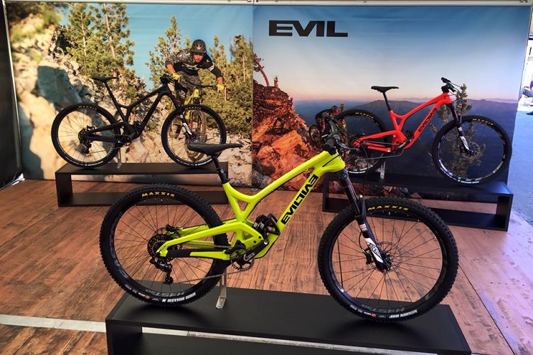 Nouveau: Evil Bikes The Insurgent