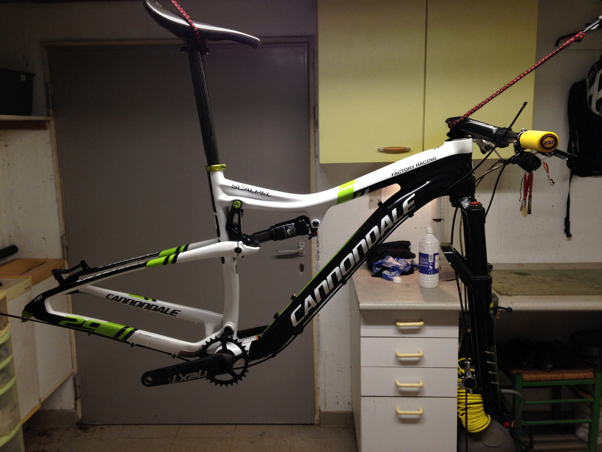 cannondale scalpel tout suspendu