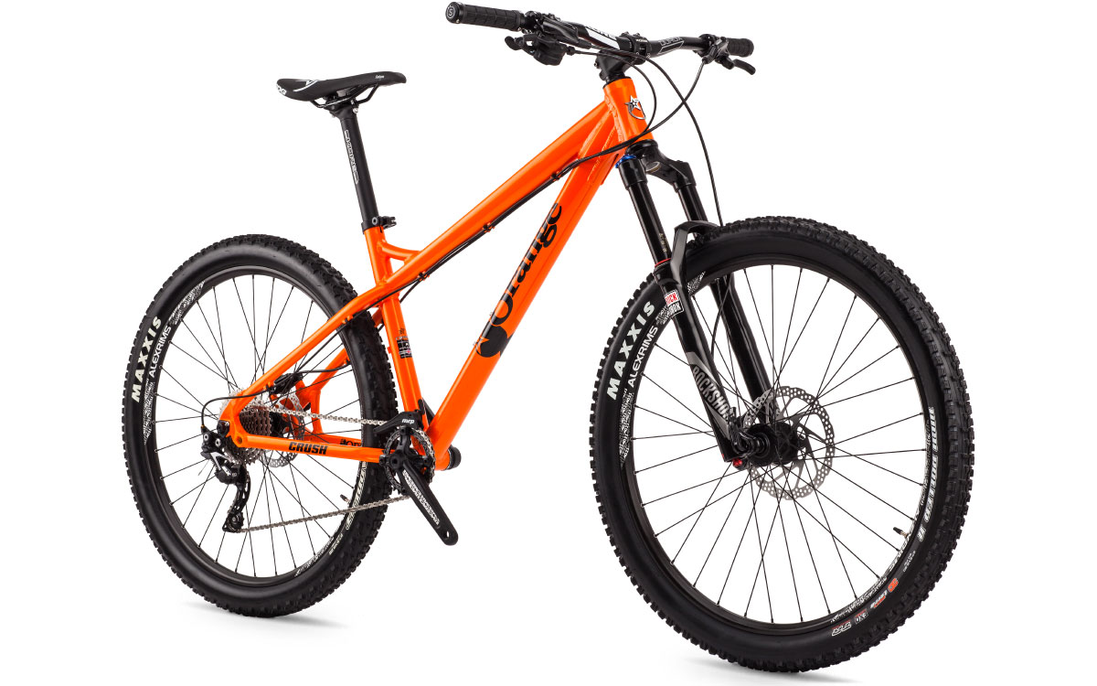 orange crush complete bike