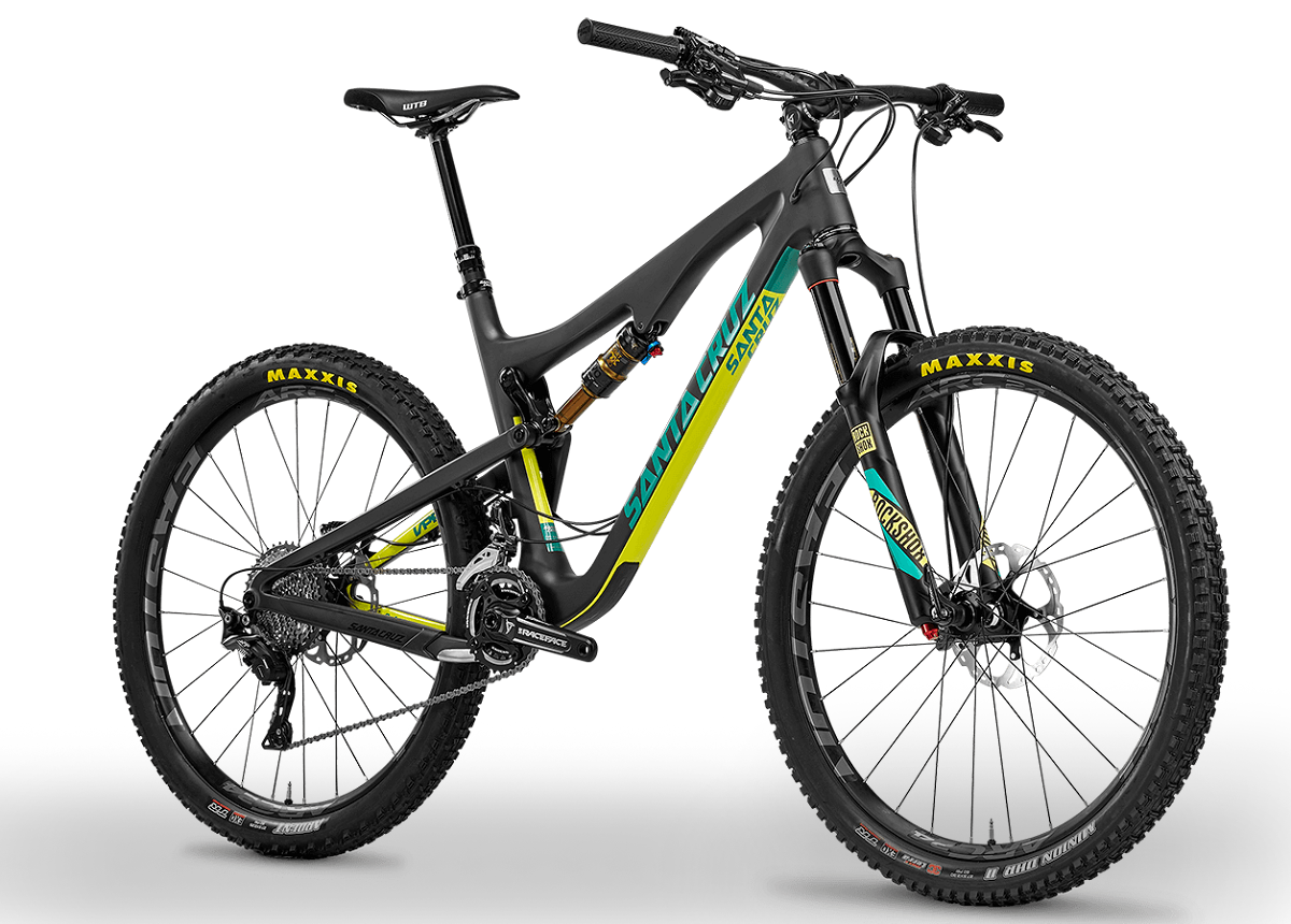 santa cruz 5010 2016 black mat yellow