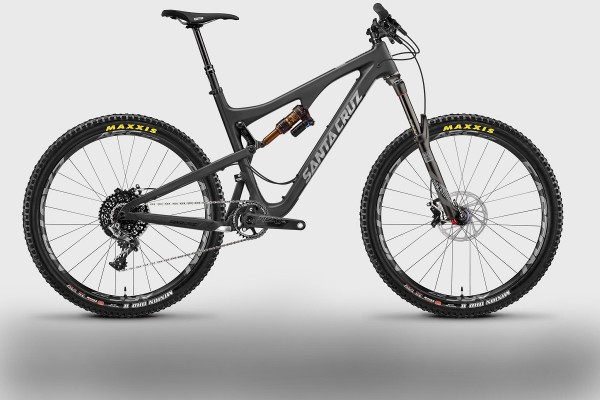 santa cruz bronson black grey