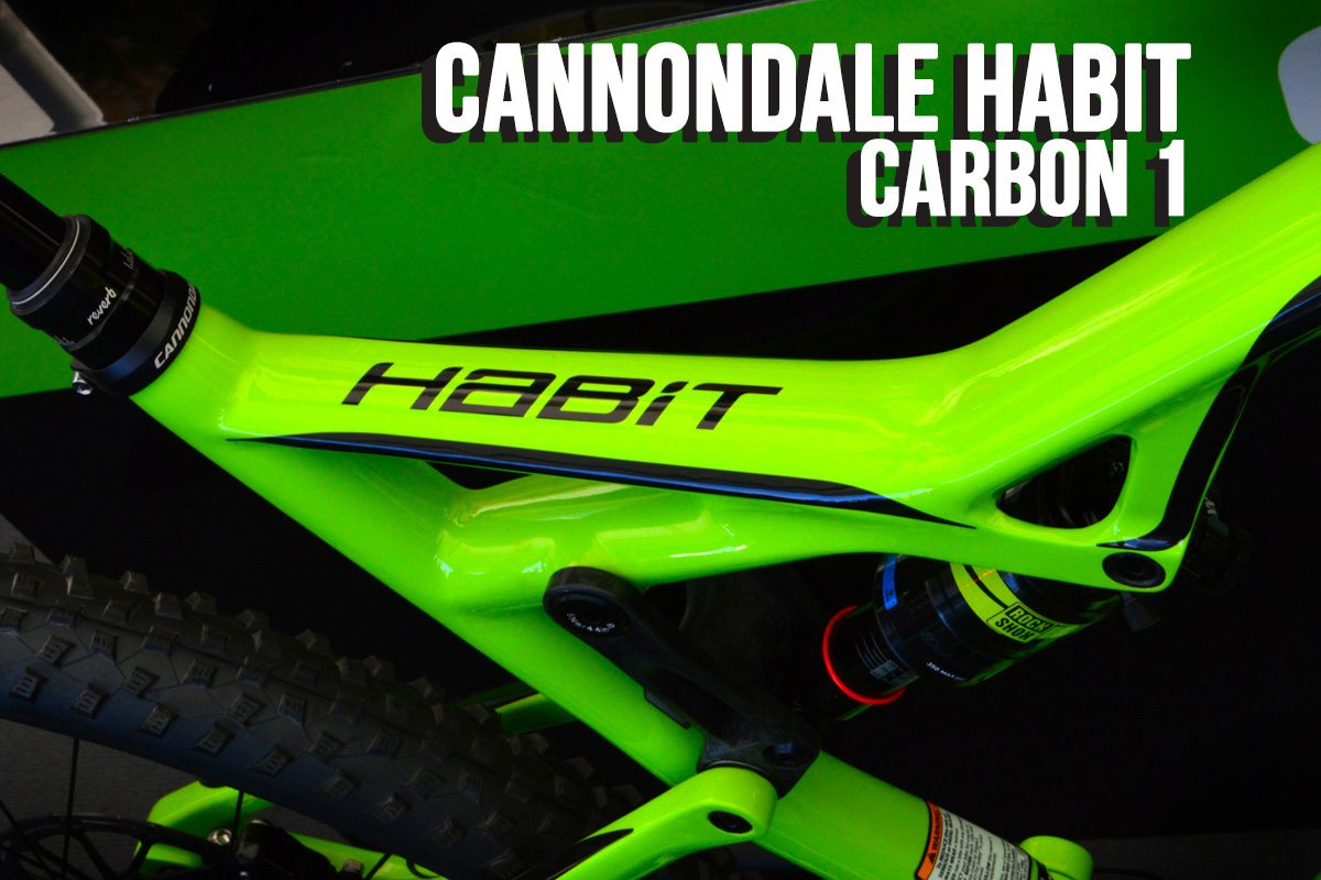 Bikecheck: Cannondale Habit Carbon 1