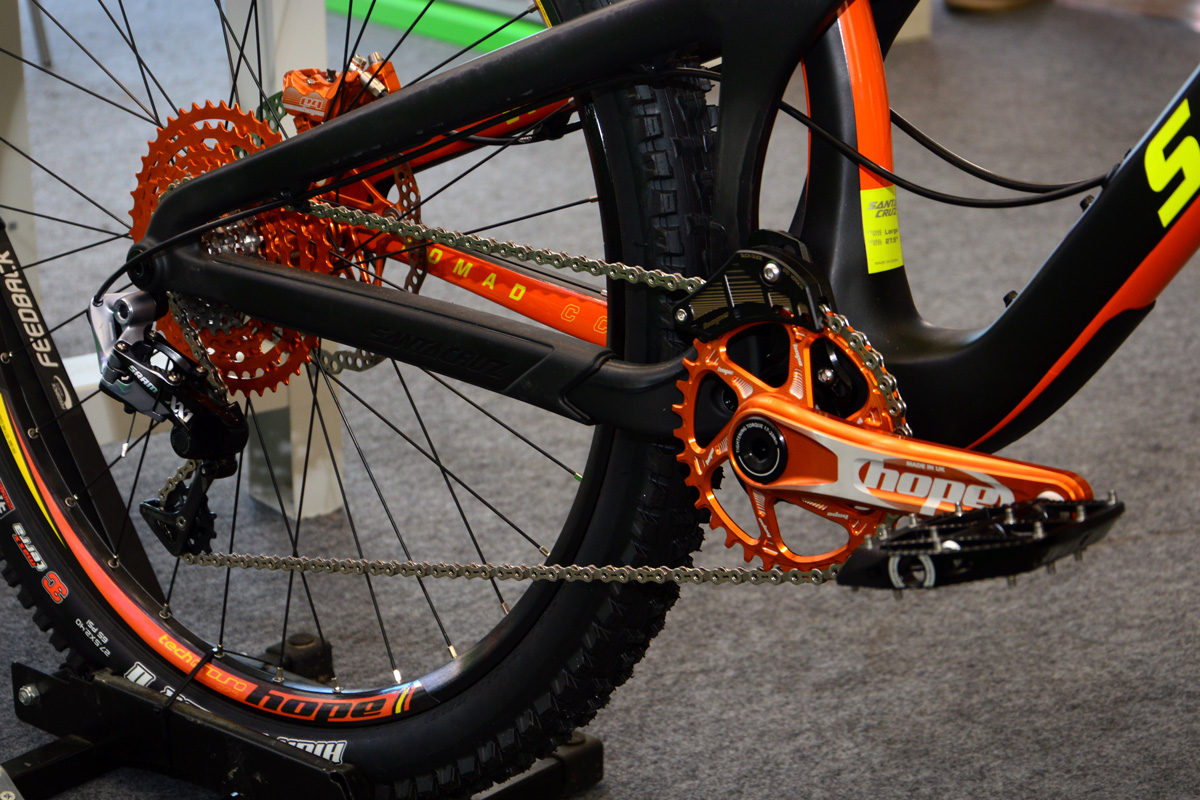 crankset hope direct mount orange