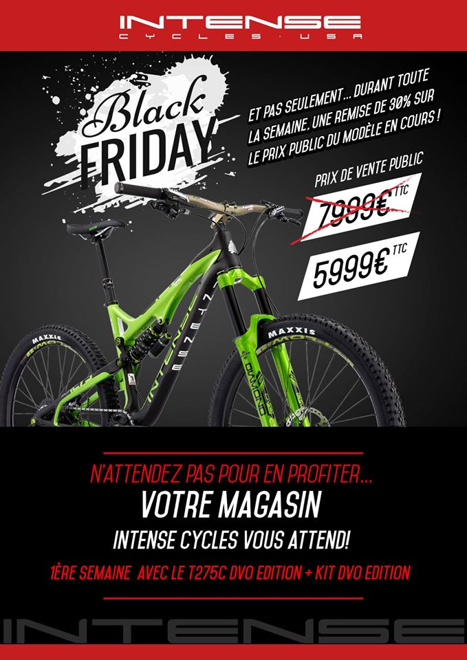 intense cycles promotion vtt complet